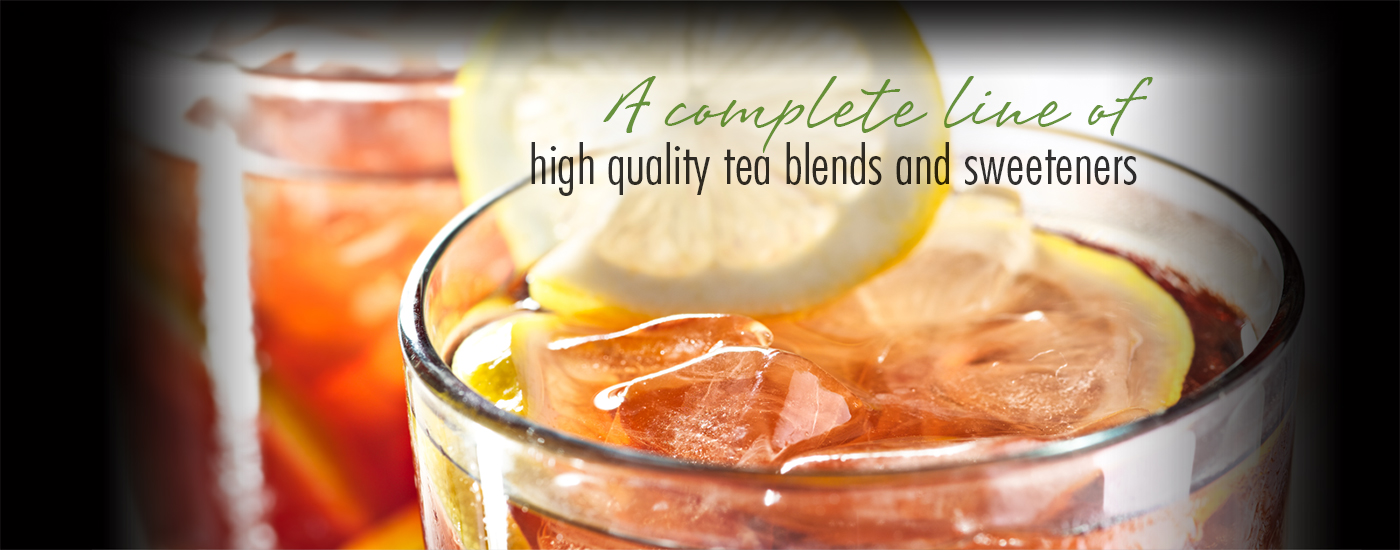 A complete line of high quality tea blends and tea based products.